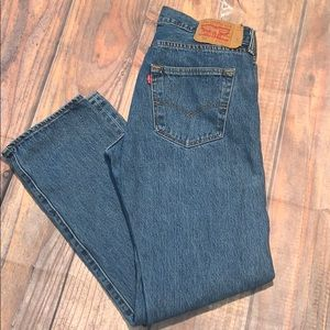 501 button fly Levi jeans 34/32
